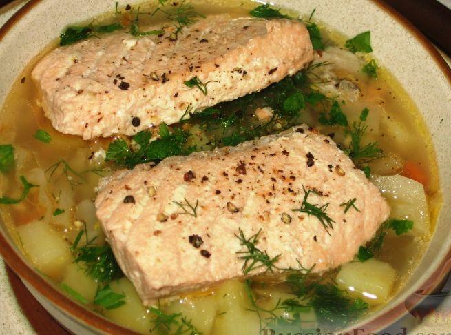 Рецепты щей с рыбой